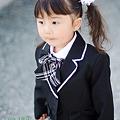 写真: 長女ちゃん入園式