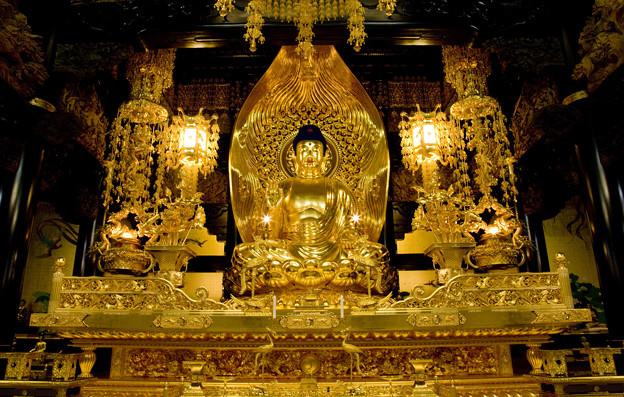 「仏像彫刻」 念佛宗(念仏宗)無量寿寺 佛教之王堂  社寺仏教美術 nenbutsushu070