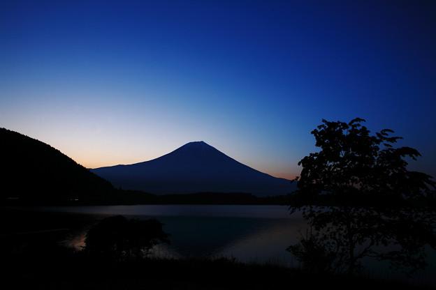 写真: 『静寂の田貫湖』