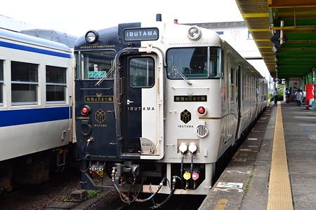 キハ47形×2@指宿駅[8/14]