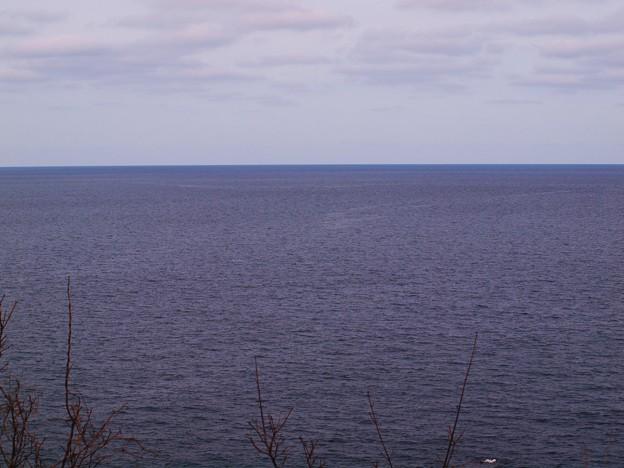 何も無いけど・・・つい見とれる海