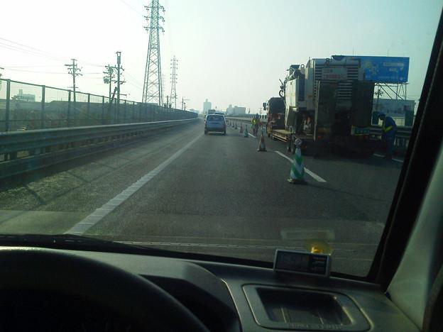 おはようございます。東名高速は集中工事中でございます。知らなかった(><)
