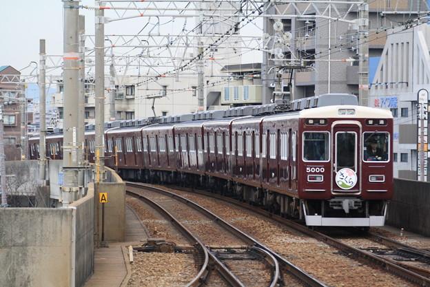 阪急5000系C#5000×8R(さくらHM付き)
