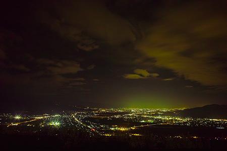 長野市の夜景(SDIM0260c)