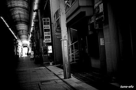 商店街の午後