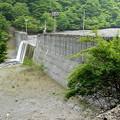 春木川の堰