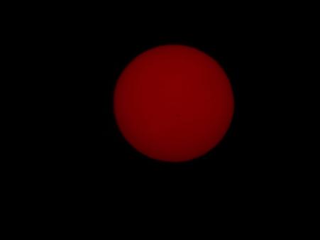 明け方の太陽試写01