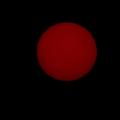 Photos: 明け方の太陽試写01(換算1400mm)