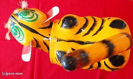 100張り子の虎
