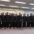 宮崎西高野球部出発式11