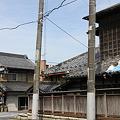 写真: 旧水戸街道 藤代宿の古い家並み