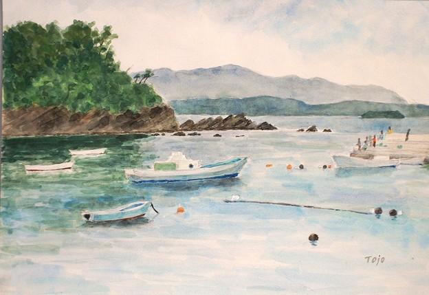 1994 南三陸の漁港
