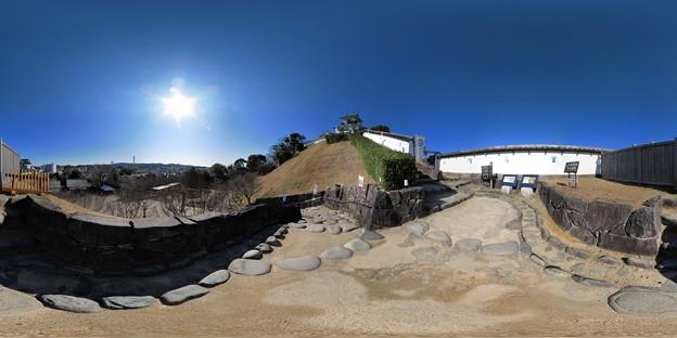 2012年2月19日 掛川城 360度パノラマ写真