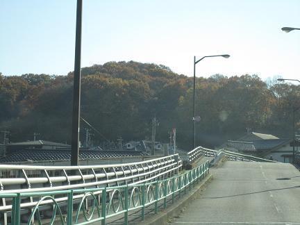滝合橋からの紅葉