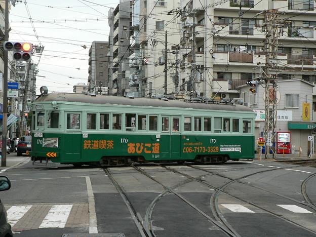 阪堺電気軌道モ161形170号