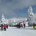 Photos: スキー場の賑わい