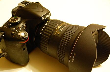 AT-X 17-35 F4 PRO FX × D5100