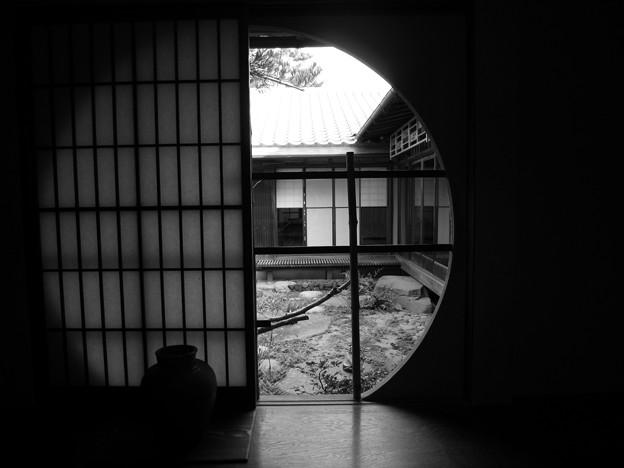 旧木下家住宅(モノクロ)