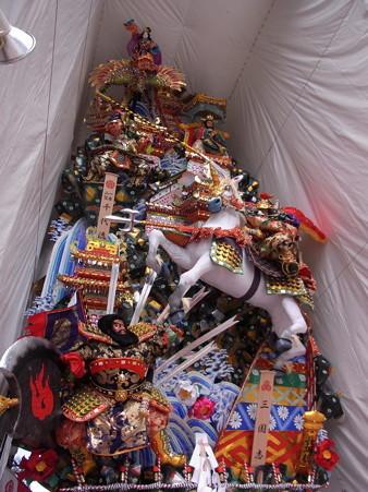 06 博多祇園山笠 飾り山 千代流 2012年 三國志(さんごくし)写真画像6