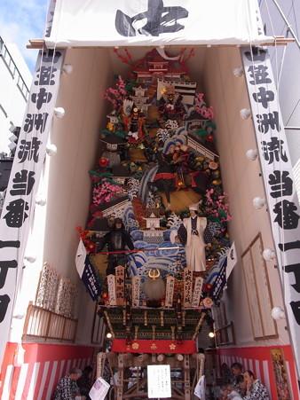 12 博多祇園山笠 飾り山 中州流 決戦のぼうの城(けっせんのぼうのしろ)2012年 写真画像