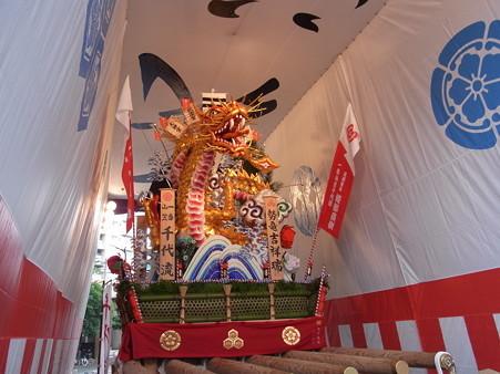 33 博多祇園山笠 千代流 舁き山 黄金のドラゴン 勢竜吉祥瑞(せいりゅうきっしょうのしるし)2012年 写真画像6