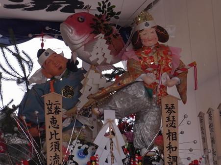 37 博多祇園山笠 恵比須流 舁き山 琴瑟相和調(きんしつあいわしてととのう)2012年 写真画像4