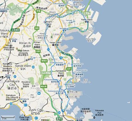 マイ アクティビティ 金沢-横須賀 2011-06-18