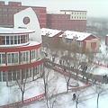 キャンパスを上から(景色は良いが)