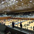 写真: 京都市中学校卓球新人戦