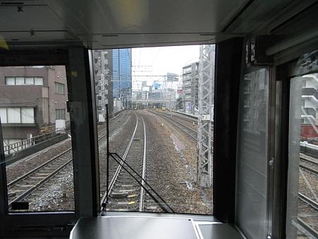 321系東海道本線の車窓(新大阪→大阪)7