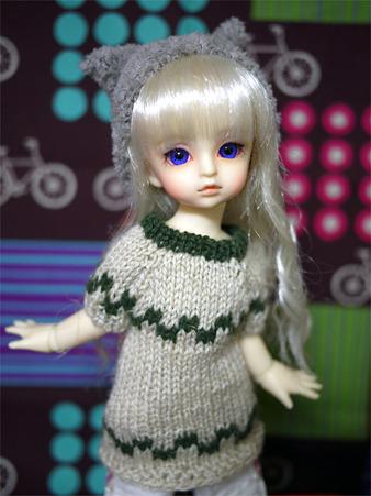 幼SDのニットのお洋服
