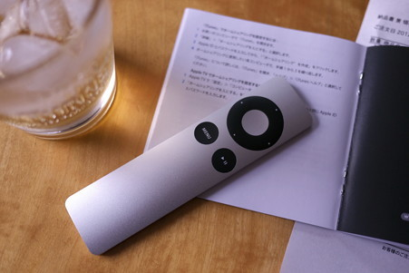 2012.06.21 居間 Apple TV 設定完了