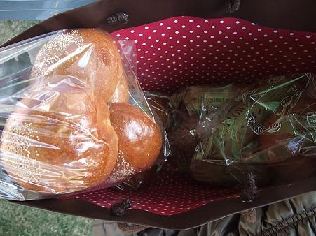ハクママから手作りパン!