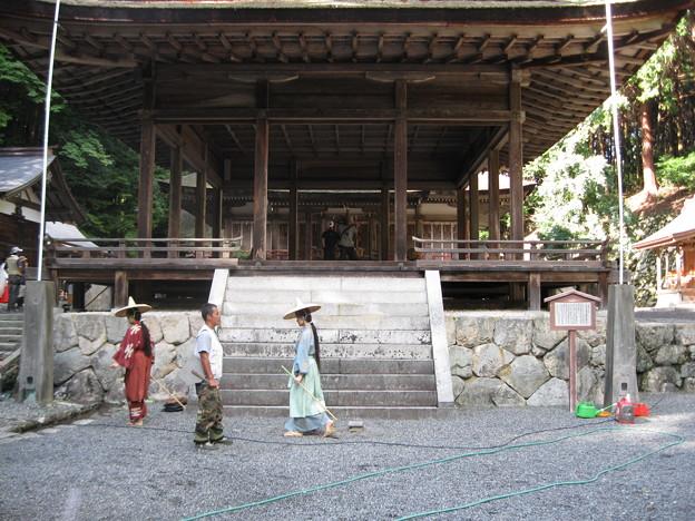 Photos: 日吉大社ロケ松ケン