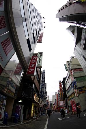 新宿西口 マップカメラ2号店周辺