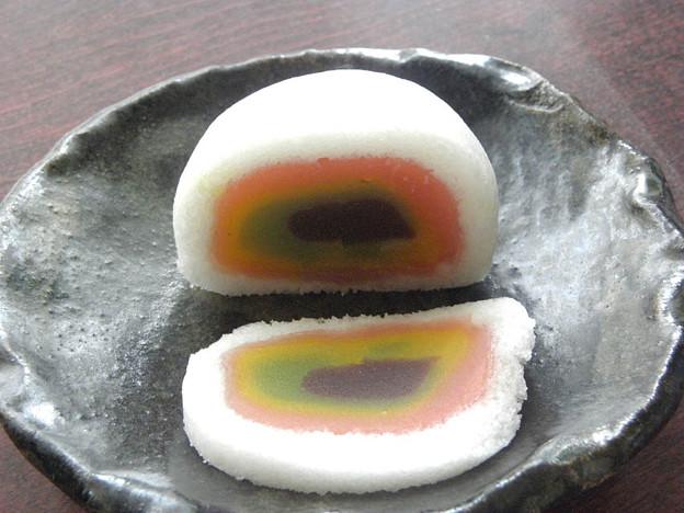 薯蕷饅頭 ( 蓬莱山 b ) 笹屋 ( 笹屋菓子舗 和菓子 根津 )