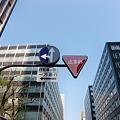 Photos: スカイバスから見ると標識が近い!