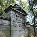 旧岩崎邸の塀