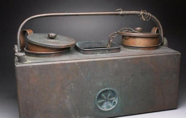燗銅壺 明治期 京都の旧家より