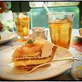 写真: キルフェボン京都 桃とチーズのタルト