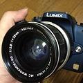 Photos: LumixG1にロッコールレンズ
