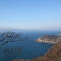 能登猿山岬から 海