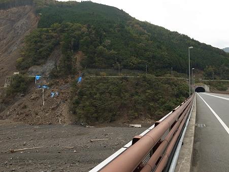 国道168号線・台風12号その後-7