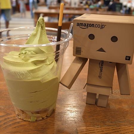 茶遊堂抹茶ソフト(舞鶴道【下り】・西紀SA)