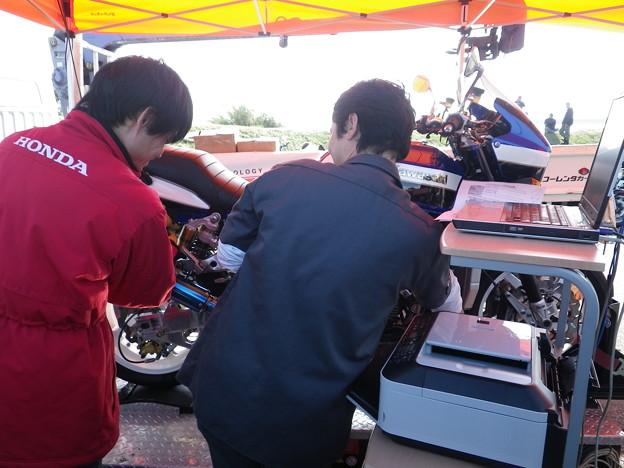 Photos: ZRX1200Rパワーチェック