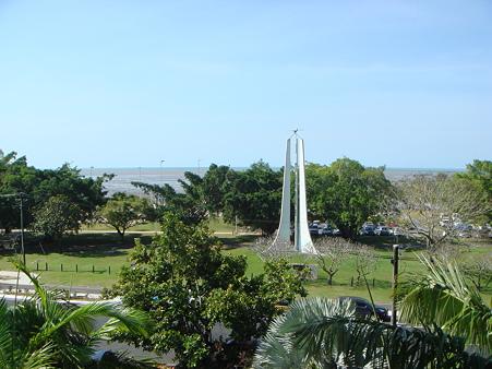 宿泊先のバルコニーからの眺め 1