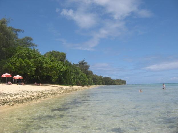 写真: ココス島ビーチ