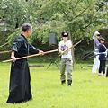 Photos: 23.8.27「鬼小十郎まつり 道明寺の戦い」の練習