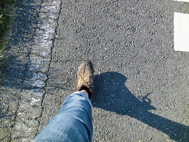 Photos: 私の足はたくましい!