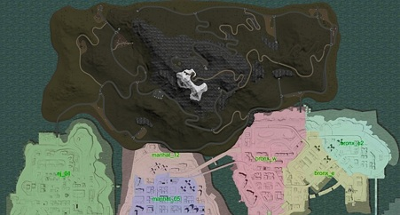 Ghost Peak Mountain MAP